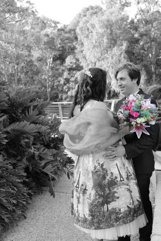 Registry Weddings in the Botanical Gardens